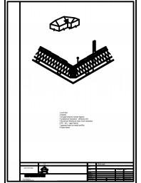 Termoizolarea acoperisului mansardat - detaliu de dolie