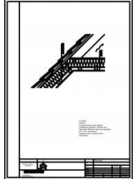 Termoizolarea acoperisului mansardat - detaliu pereti si tavane