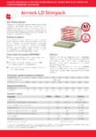 Placi semi-rigide de vata bazaltica ROCKWOOL - AIRROCK LD Slimpack