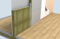 Termoizolatie vata bazaltica pentru pereti de compartimentare ROCKWOOL
