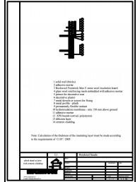Termoizolarea fatadelor tencuite - detaliu de soclu