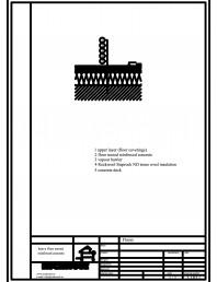 Termoizolarea pardoselilor - detaliu termoizolare pardoseala pe structura beton armat
