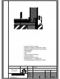 Termoizolarea pardoselilor - detaliu termoizolare, pardoseala asezata pe sol
