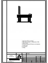 Termoizolarea pardoselilor - detaliu termoizolare, pardoseala pe structura de lemn