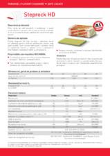 Placi rigide de vata bazaltica pentru pardoseli ROCKWOOL