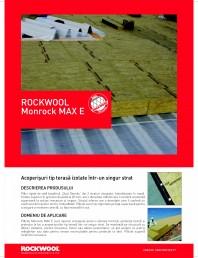 Placi rigide de vata bazaltica pentru izolarea intr-un singur strat a acoperisurilor tip terasa