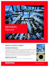 Cochilii izolatoare din vata minerala bazaltica ROCKWOOL