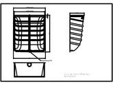 Curte de lumina ACO Markant 100 x 130 x 50 cm ACO