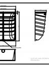 Curte de lumina ACO Markant 100 x 130 x 50 cm