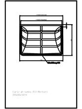 Curte de lumina ACO Markant 100 x 80 x 50 cm ACO
