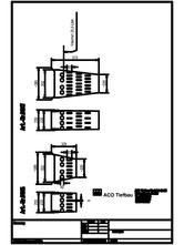 Accesorii pentru rigole cu gratar din beton cu polimeri - Cos de aluviuni - 01616 01617 ACO