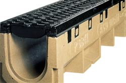Rigole cu gratar din beton cu polimeri  ACO - Poza 2