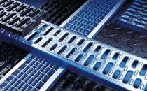 Rigole cu gratar din beton cu polimeri  Rigolele ACO din beton cu polimeri cu sectiunea in forma de V pentru performante marite de drenaj si eficienta in autocuratare.