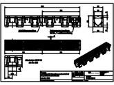 Gratar din plastic X100C B125-11075 ACO