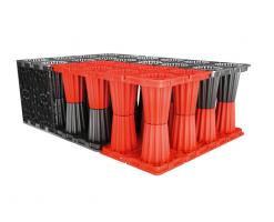 Sisteme de retentie si infiltrare a apelor meteorice ACO Stormbrixxeste un sistem modular realizat din polipropilena, folosit pentru retentia sau pentru infiltrarea in pamant a apelor meteorice.