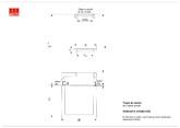 Trapa de namol din beton armat - varianta standard ACO