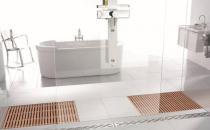 Solutii speciale pentru bai - ACO Walk-in  Suprafetele foarte utilizate din orice baie au nevoie de un nivel ridicat de ingrijire si intretinere, cu atat mai mult cu cat zonele respective sunt frecvent udate sau stropite cu apa.