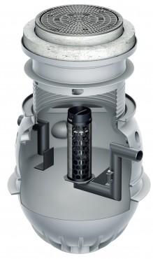 Instalatii de separare lichide usoare din polietilena ACO - Poza 3