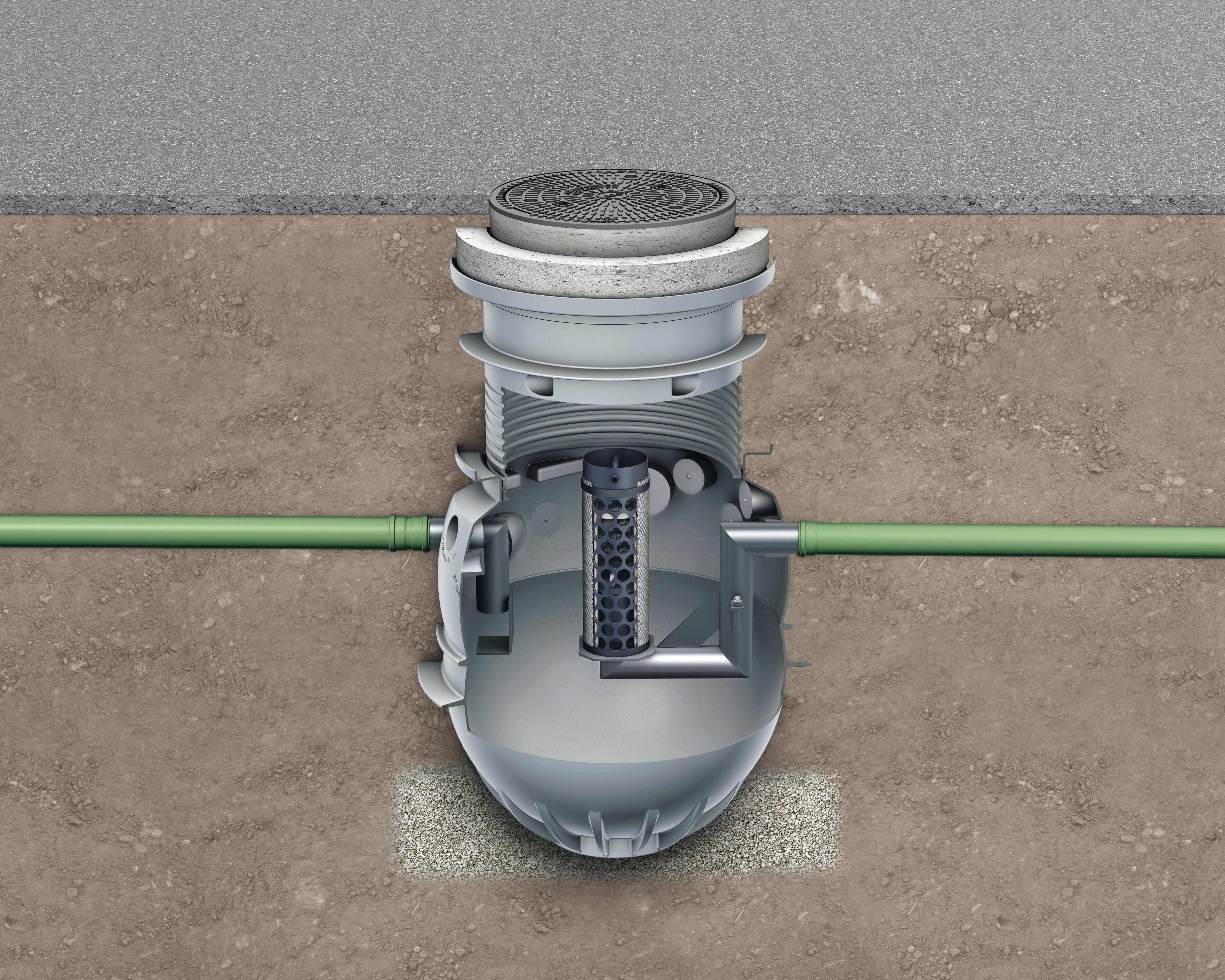 Instalatii de separare lichide usoare din polietilena ACO - Poza 4