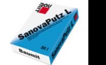 Tencuieli de reparatii Tencuiala pentru reparatii L (Baumit SanovaPutz L) -tencuiala usoara pentru renovare, cu efect termoizolant, pentru interior si exterior cu absorbtie redusa de apa. Nu se recomanda pe zonele de soclu. Granula max. 2 mm.Tencuiala fina de reparatii (Baumit SanovaFeinPutz) -tencuiala alb natur pentru prelucrare manuala, hidrofobata, pentru interior si exterior.Tencuiala pentru reparatii S (Baumit SanovaPutz S) -tencuiala pentru prelucrare manuala sau mecanizata, hidrofobata, pentru interior si exterior, in special pentru socluri, pentru lucrari vechi si noi.
