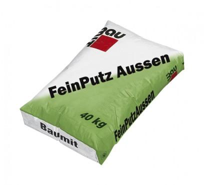 Tencuiala fina alba de exterior FeinPutz Aussen BAUMIT - Poza 1