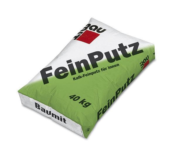 Tencuiala fina alba de interior FeinPutz BAUMIT - Poza 2