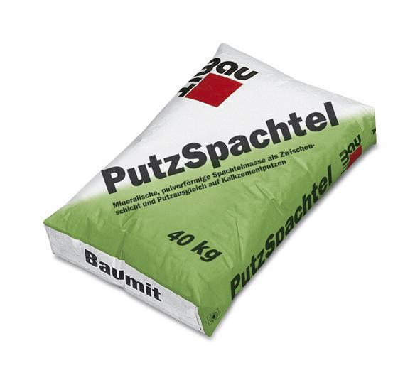 Masa de spaclu pentru tencuieli - tinci PutzSpachtel BAUMIT - Poza 7