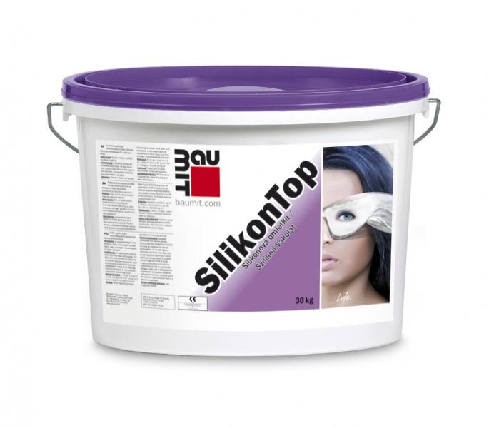 Tencuiala decorativa siliconica SilikonTop BAUMIT - Poza 5