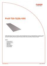 Profil trapezoidal RUUKKI
