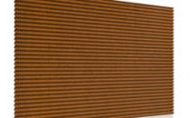 Tabla profilata pentru fatade Profilele Design si elementele de racordare  complementare, ca si elemente permanente a paletei de concepte Ruukki,  ofera o diversitate minimalista si ritm fatadelor.Profilele trapezoidale de la Ruukki, sunt  produse din materii prime de   calitate superioara,  suntcomponentedurabilepentru constructii, cu   aplicatii pentru pereti  si acoperisuri.