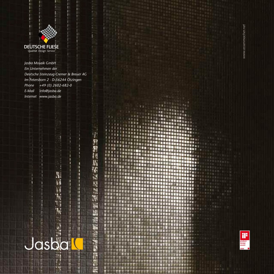Jasba Natural Glamour Mosaik Jasba-natural Glamour Bietet