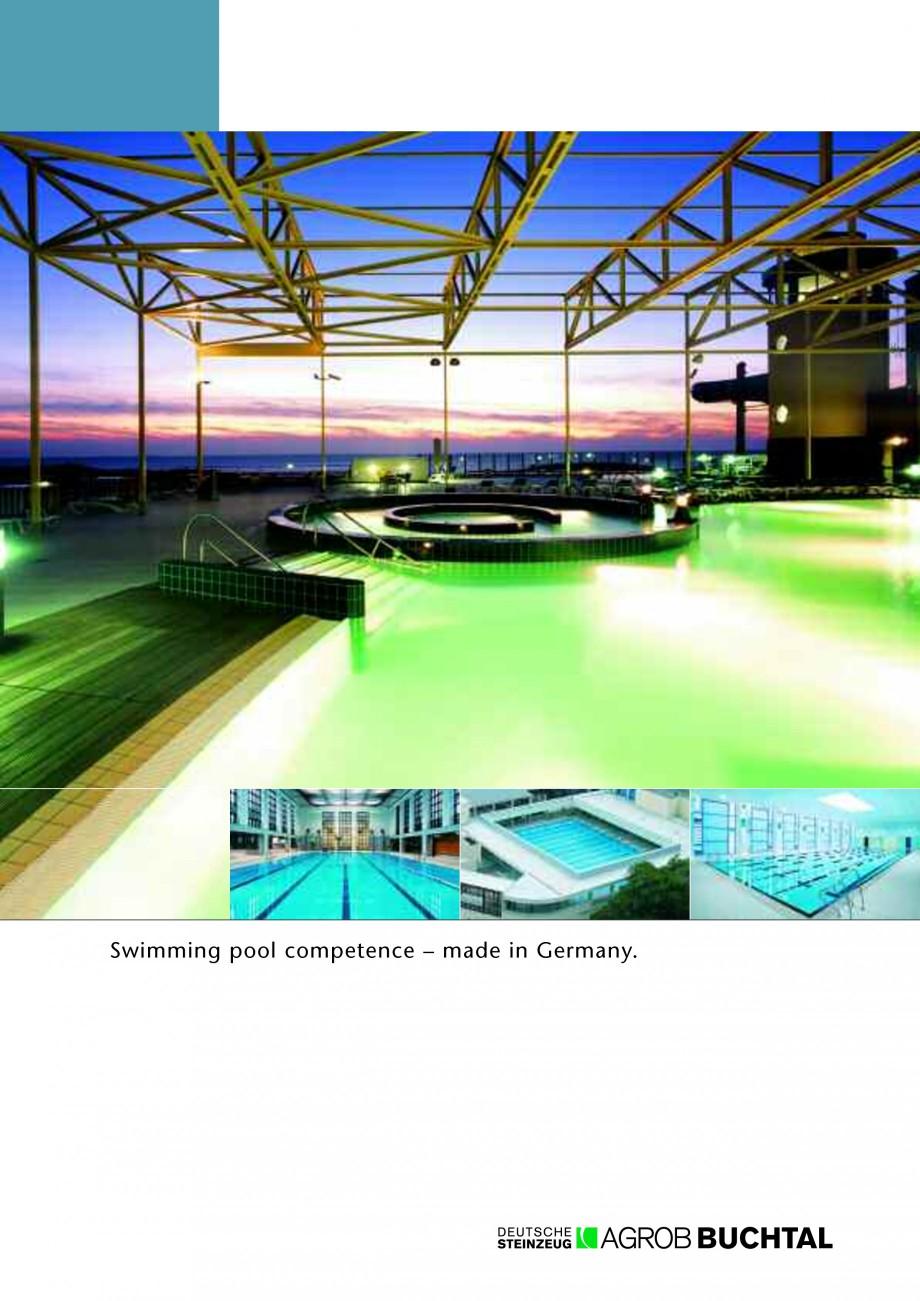 Catalog brosura prospect competenta bazine chroma ii for Club piscine catalogue