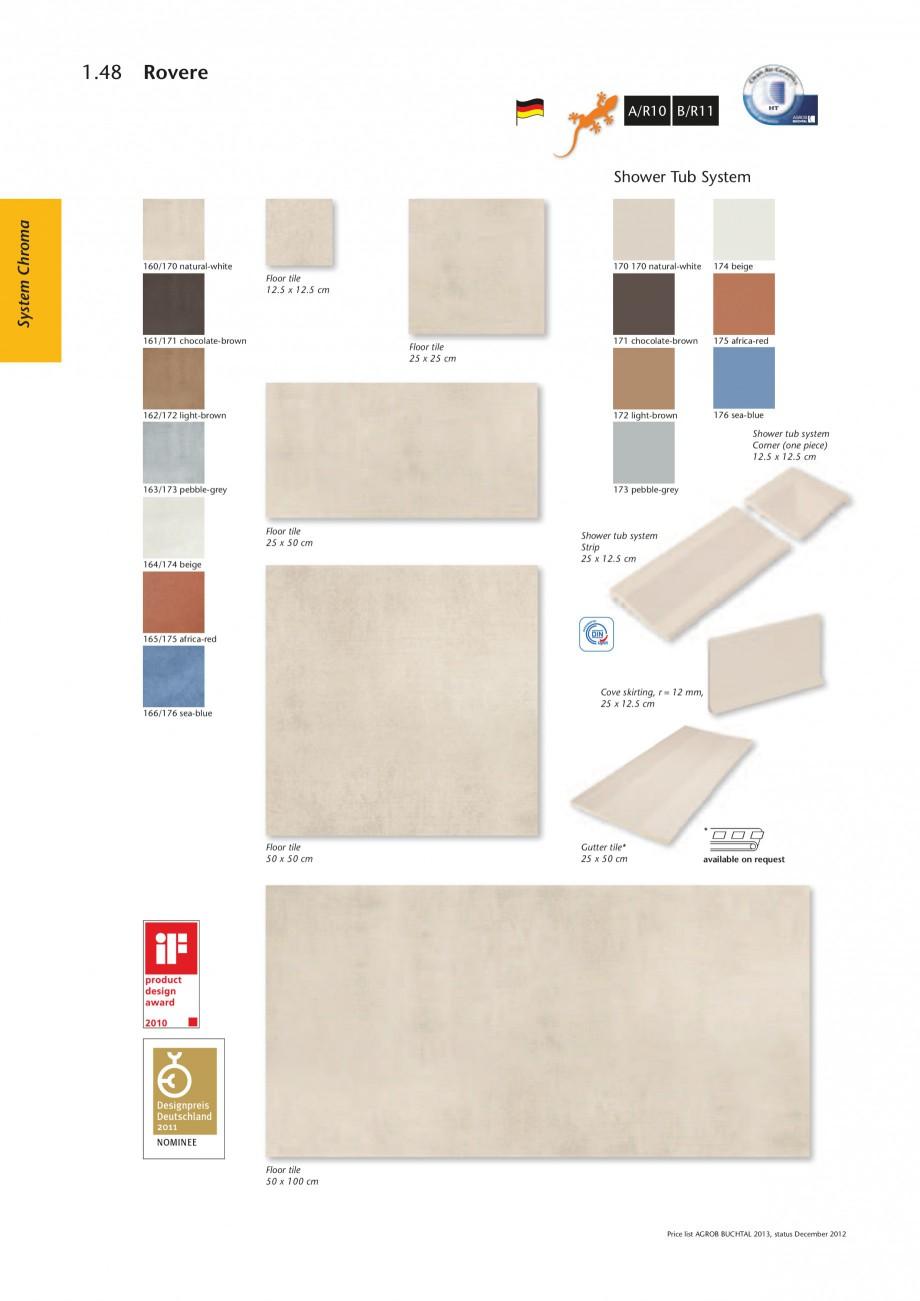 catalog brosura placaje ceramice pentru piscine program de livrare chroma rovere agrob. Black Bedroom Furniture Sets. Home Design Ideas