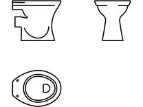 Obiecte sanitare - 2D - 6888 VITRA