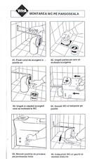 Instructiuni montaj pentru diferite tipuri de vase WC VITRA