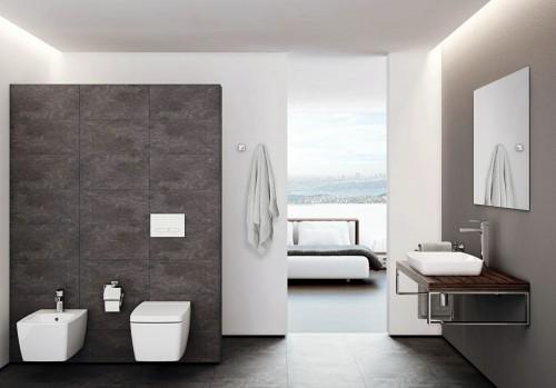 Obiecte sanitare, seturi complete METROPOLE VITRA - Poza 409