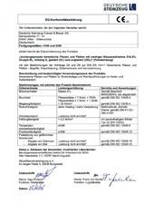 Declaratii de conformitate - 1 - Feinsteinzeug AGROB BUCHTAL