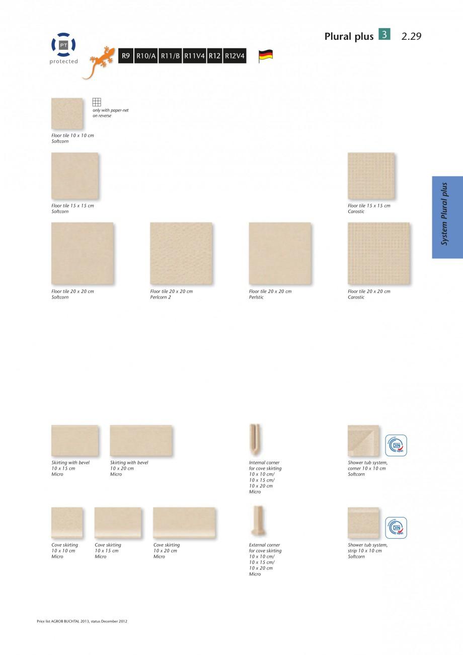 catalog brosura gresie de interior program de livrare plural plus 3 agrob buchtal gresie de. Black Bedroom Furniture Sets. Home Design Ideas