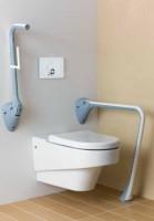 Obiecte sanitare speciale pentru persoane cu handicap VitrA are un sistem complet de obiecte sanitare, echipamente speciale pentru acest program.