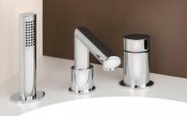 Baterii pentru baie, lavoare, bideuri Bateriile Gessi sunt recunoscute in toata lumea ca obiecte de decor cu o personalitate aparte. Forma si functiile sofisticate pun in valoare orice ambient in care sunt integrate.