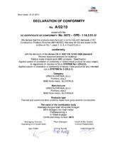 Certificat de conformitate A/02/10
