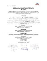 Certificat de conformitate F/02/10