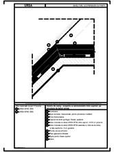 Detaliu de camp - acoperis cu termoizolatia intre capriori, pe structura de beton armat URSA