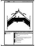 Detaliu de coama - acoperis cu astereala, cu termoizolatia intre capriori URSA - SF 38