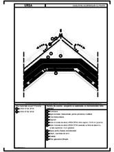 Detaliu de coama - acoperis cu astereala, cu termoizolatia intre capriori URSA