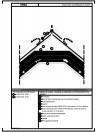 Detaliu de coama - acoperis cu astereala, cu termoizolatia intre capriori