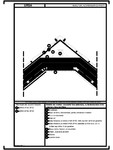 Detaliu de coama - acoperis fara astereala cu termoizolatia intre capriori fara ventilare URSA - SF