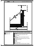 Detaliu de lucarna, partea inferioara - acoperis fara astereala URSA - SF 38