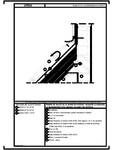 Detaliu de racord cu un perete termoizolat - acoperis cu astereala cu termoizolatia intre capriori cu