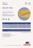 Saltea din vata minerala de sticla URSA - DF 39/NA